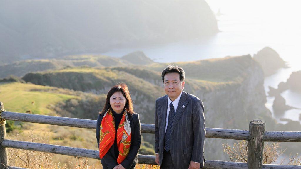 2019年11月23~24日の日程で、枝野幸男代表が島根入り。 枝野代表・亀井あきこ