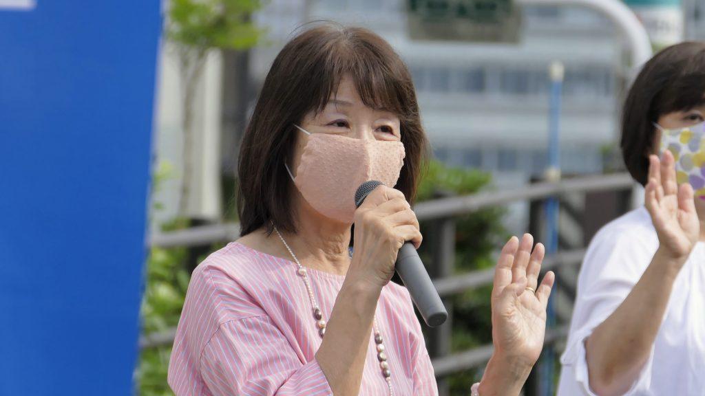 2020年9月15日島根県議会 令和2年9月定例会本会議にて、はくいし恵子 議員が質問を行いました。